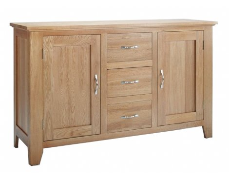 Sherwood Oak Sideboard 2 Door 3 Drawer