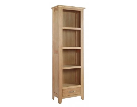 Sherwood Oak Small 1 Drawer Bookcase