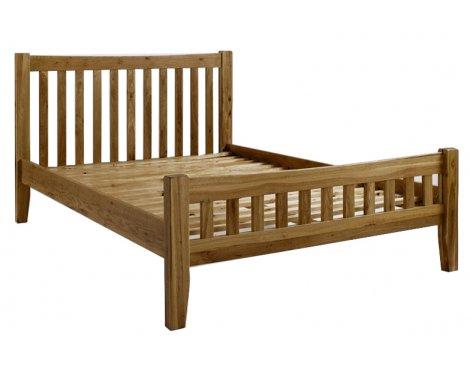 Westbury Reclaimed Oak 4\'6 Bed