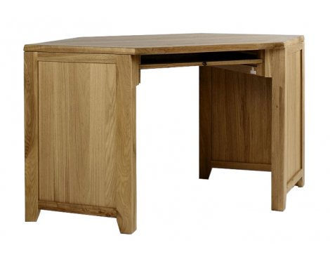 Westbury Reclaimed Oak Corner Desk Unit