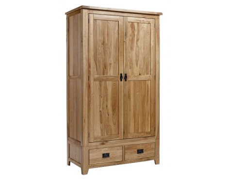 Westbury Reclaimed Oak Gents Wardrobe