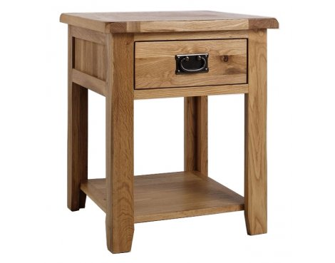 Westbury Reclaimed Oak Lamp Table