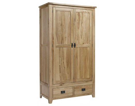 Westbury Reclaimed Oak Triple Wardrobe