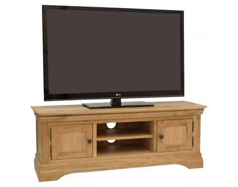 Normandy Oak Large / Widescreen TV Unit