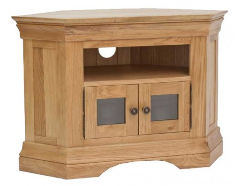 Normandy Oak Corner TV Unit
