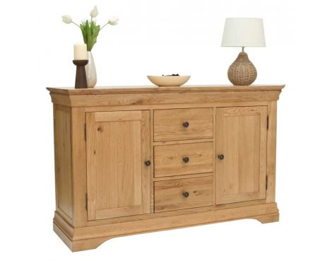 "Normandy Oak 4\'6"" Dresser Base"