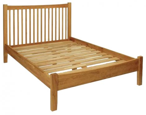 Hereford Oak Double Bed