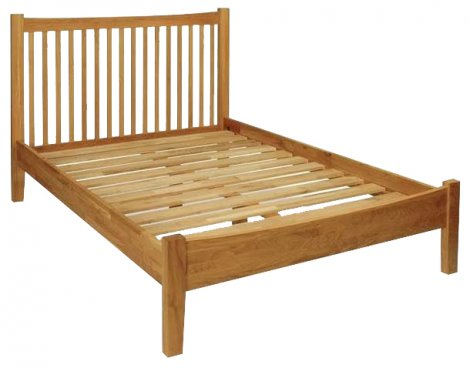 Hereford Oak Kingsize Bed