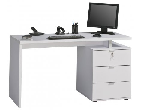 Maja Victoria White Computer Desk