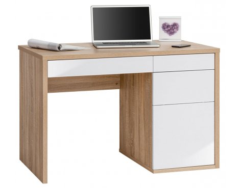 Maja Club Oak & White Computer Desk