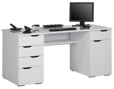 Maja Malborough White Computer Desk