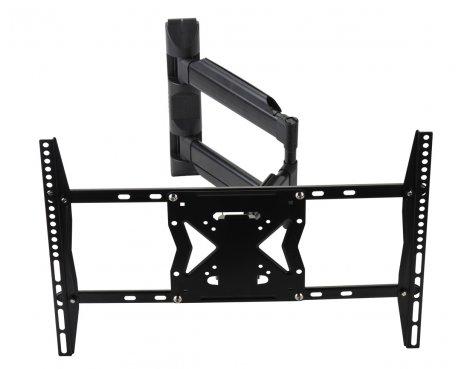 "Black Universal Swing Arm TV Wall Bracket For 32\"" - 63\"" TVs"