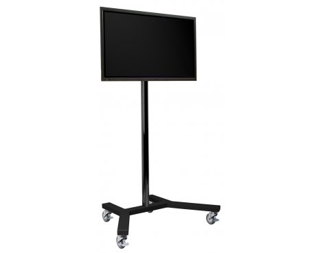 """B-Tech 1.5m Trolley Stand for up to 65\"""" TVs"""