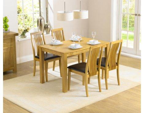 Mark Harris Charlotte Solid Hardwood Dining Set