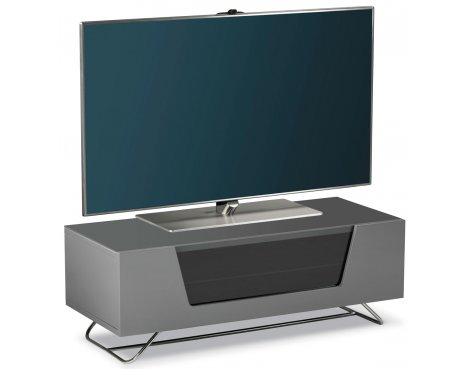 "Display Model - Alphason Chromium Grey TV Stand for up to 50"" TVs"