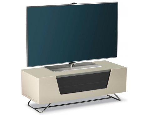 "Alphason Chromium Ivory TV Stand for up to 50"" TVs"