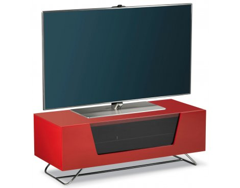 "Alphason Chromium Red TV Stand for up to 50"" TVs"