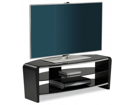 "Alphason Francium Black TV Stand for up to 50"" TVs"