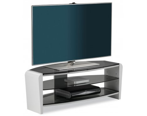 """Alphason Francium White TV Stand for up to 50\"""" TVs"""