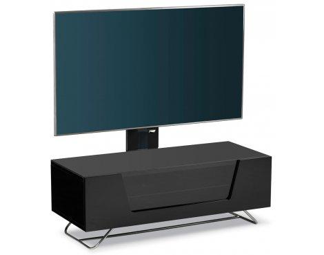 Alphason Chromium Black Cantilever TV Stand