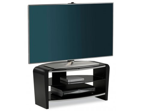"Alphason Francium Black TV Stand for up to 37"" TVs"