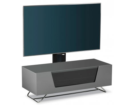 Alphason Chromium Grey Cantilever TV Stand