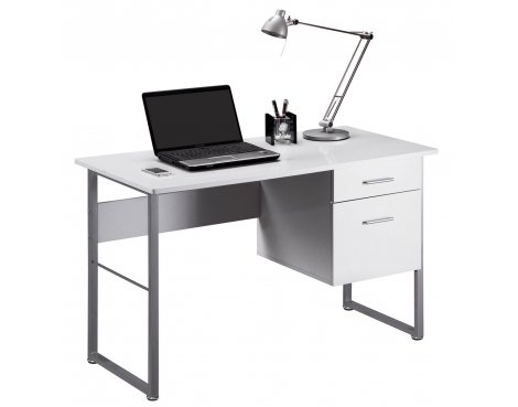 Alphason Cabrini AW22226-WH White Desk