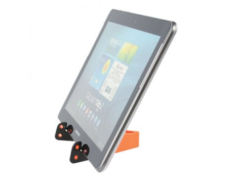 """Universal Orange Tablet Stand For All Tablets up to 10\"""""""