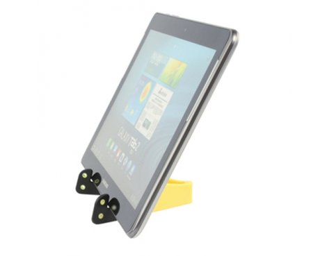 Universal Yellow Tablet Stand For All Tablets up to 10""