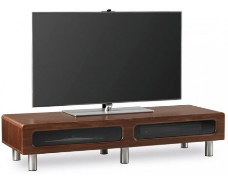 Alphason ABR1350CB Walnut Veneer TV Stand