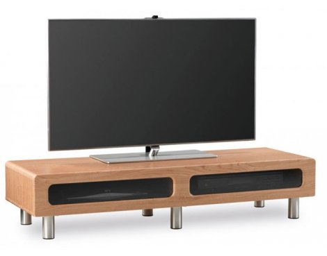 Alphason ABR1350CB Oak Veneer TV Stand