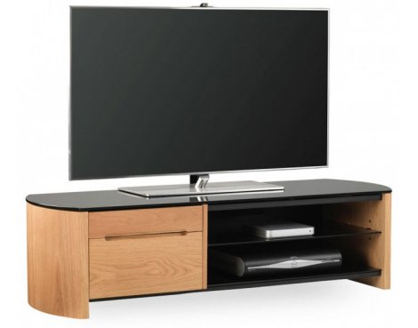Alphason FW1350CB Oak Veneer TV Stand