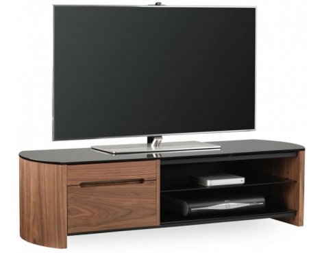 Alphason FW1350CB Walnut Veneer TV Stand