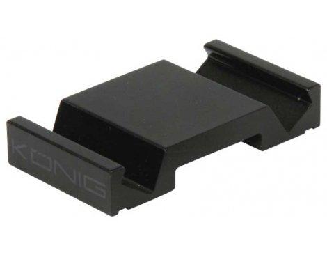 Universal Aluminium Smartphone Stand in Black
