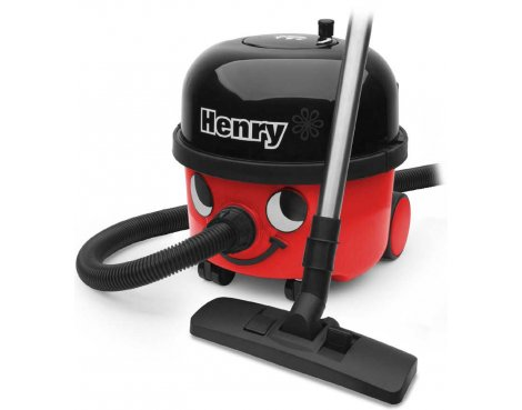 Henry Bagged Cylinder Vacuum Cleaner - Red