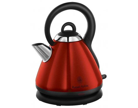 Russell Hobbs Heritage 19140 Kettle - Red / 1.8 Ltr