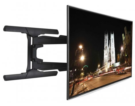 B-Tech Ultra Slim Double Arm Cantilever TV Bracket