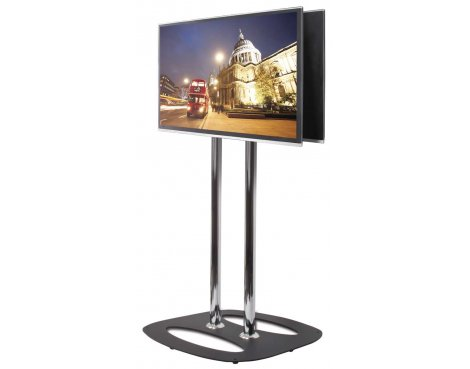 Flat Screen Back-to-Back Display Stand - 1.1m