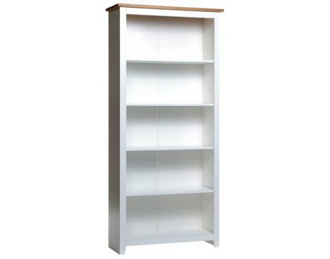 Capri Waxed Pine Tall Bookcase
