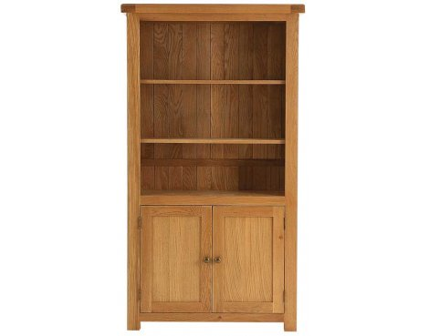 Ultimum Dere Large Oak Bookcase