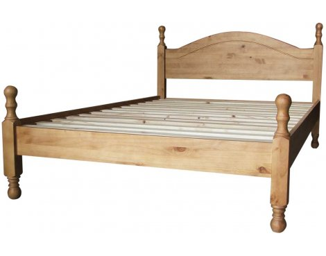 Ultimum Avon Waxed Pine 3ft Bed High End
