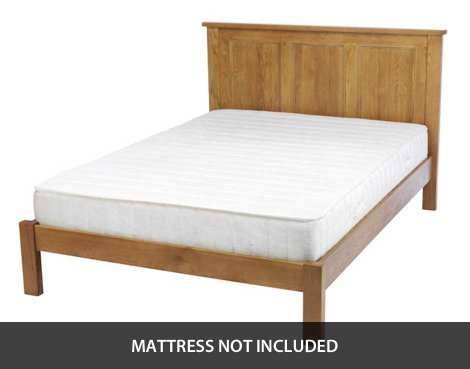 Ultimum Chester Oak 5ft King Size Bed