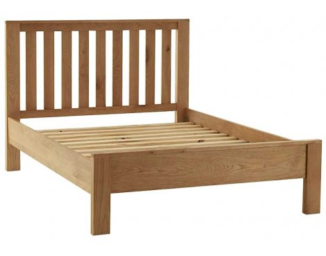 Ultimum Chunky Oak 5ft King Size Bed