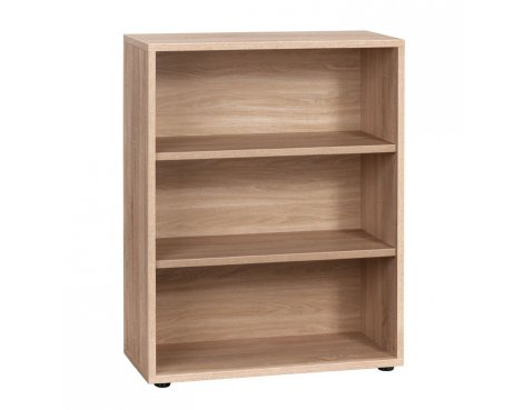 Maja Sonoma Oak Low Bookcase