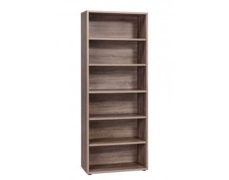 Maja Sawn Truffle Oak Large Bookcase