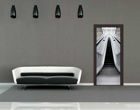 1Wall Escalator Door Mural