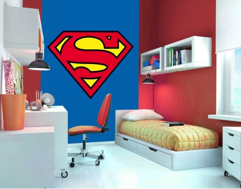 1Wall Superman Wall Mural