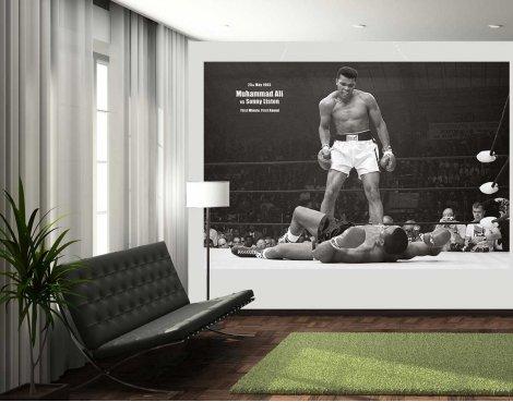 1Wall Muhammad Ali Wall Mural