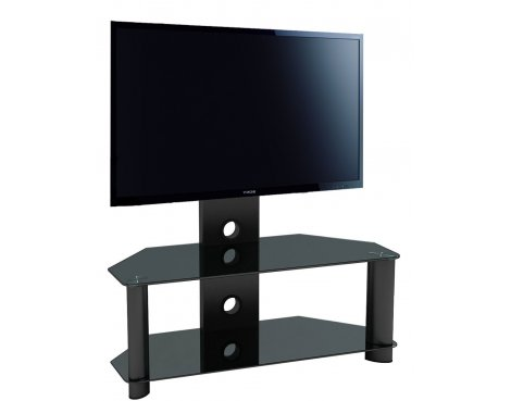 "Piano Black Universal TV Stand for up to 50"" TVs"