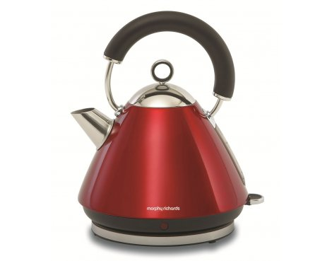 Morphy Richards 43772 Accents Red Traditional Kettle - 1.5L